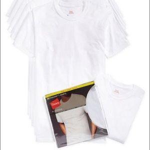 men's crew-neck Undershirts 6-pack  size L